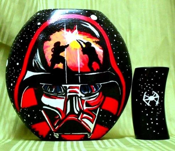 Darth Vader Vase By Lisa Lappi Buy Affordable Art Online Rise Art