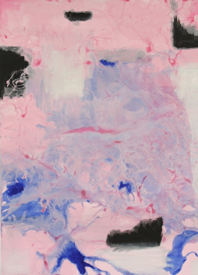 Pink and Deep Blue by Kristin Gaudio-Endsley