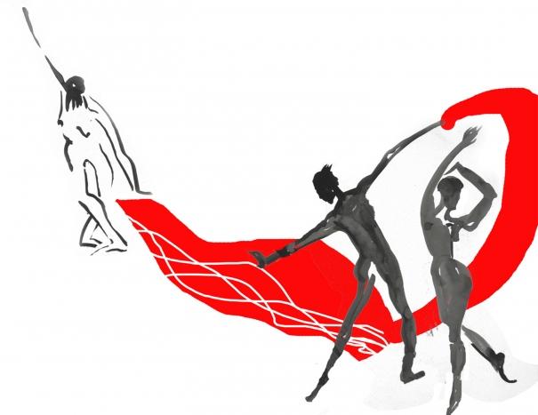 Scarf Dance by Natalia Koren Kropf