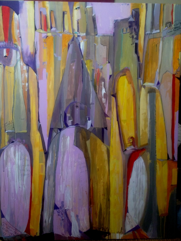 My sweet word cathedral by heloise delegue buy for Buy affordable art online
