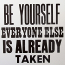 Be Yourself (Oscar Wilde)