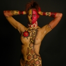 Lindsy Body Painting