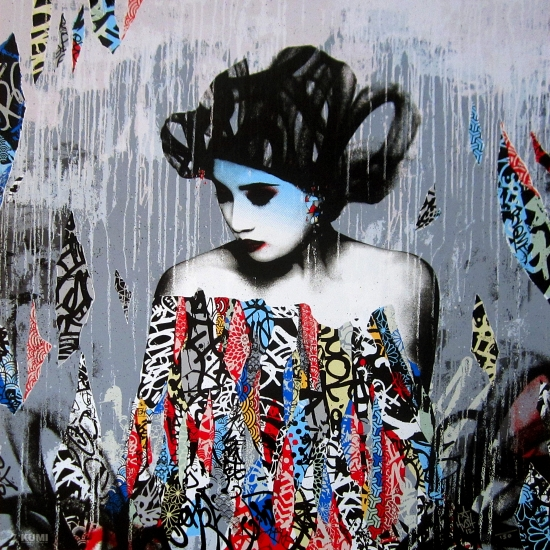 Siren in motion by hush buy affordable art online rise art for Buy street art online