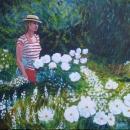 Roberta in the Garden