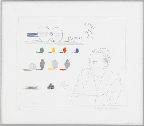 The Poet by David Hockney