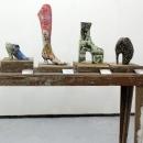 Impermanent Collection (shoe exhibit)