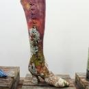 Impermanent Collection (shoe exhibit) detail