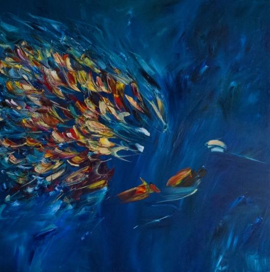 Blue Birds - Victoria Horkan