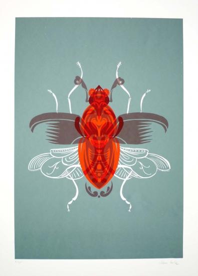 Beetle 2 by adam gale buy affordable art online rise art for Buy affordable art online