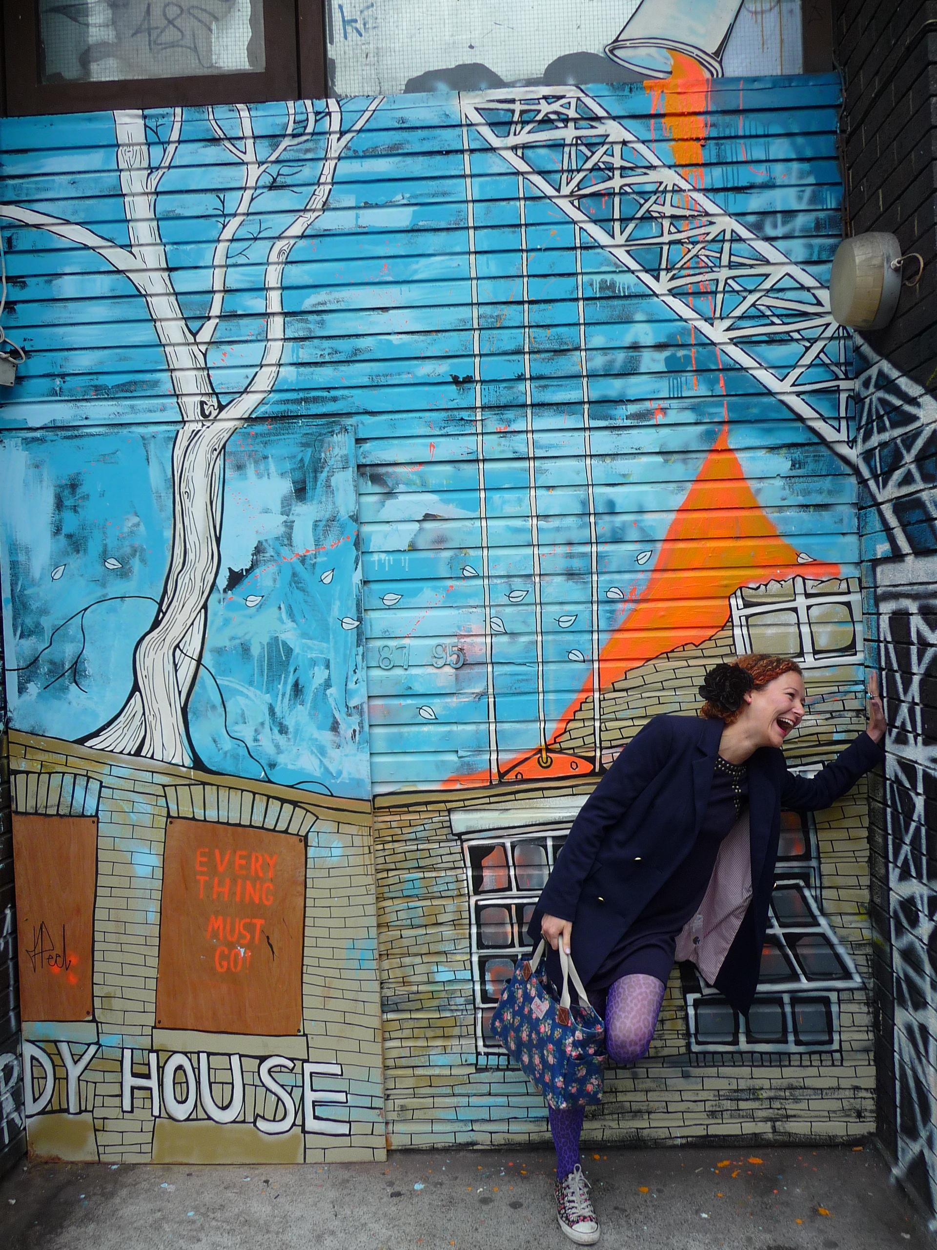 Street Art and Girl