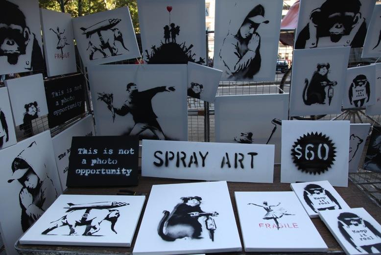 Banksy Stall