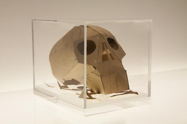 Hormazd Narielwalla - Dead man's Patterns - Momento Mori Skull