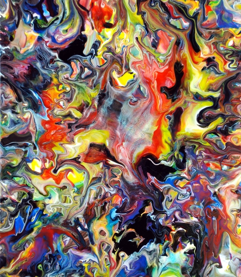 Mark Chadwick - Fluid Painting 84