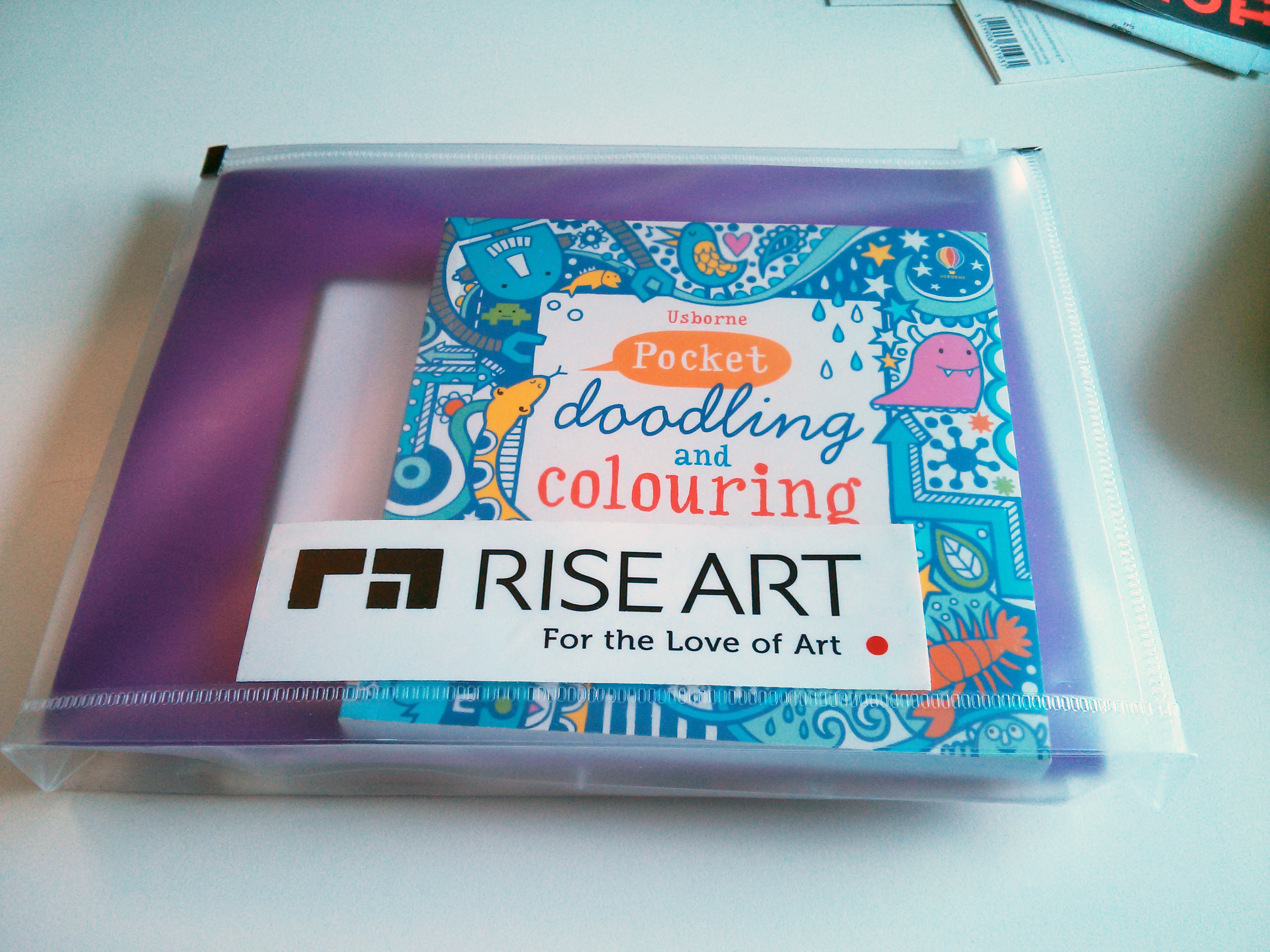 Rise Art Charity Art Pack