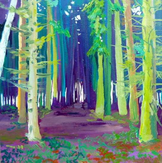 Bacton woods by claire cansick buy affordable art online for Buy affordable art online