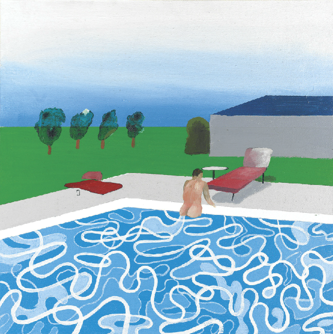 5 things you didn 39 t know about david hockney art news - David hockney swimming pool paintings ...