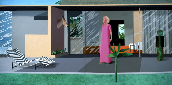 Beverly Hills Housewife - David Hockney