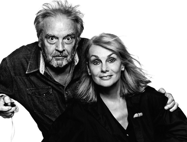 David Bailey and Jean Shrimpton 2010