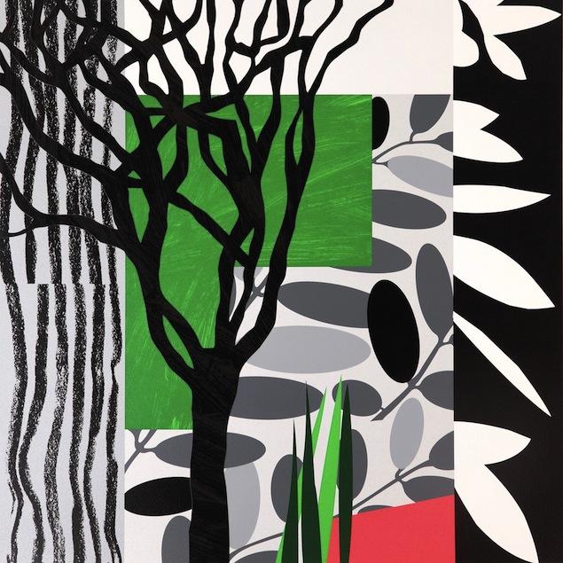 Black Mimosa - Bruce Mclean