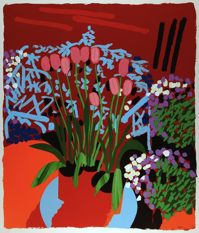 Tall Dutch Tulips - Bruce McLean