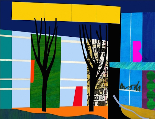 Designer Trees by Bruce McLean