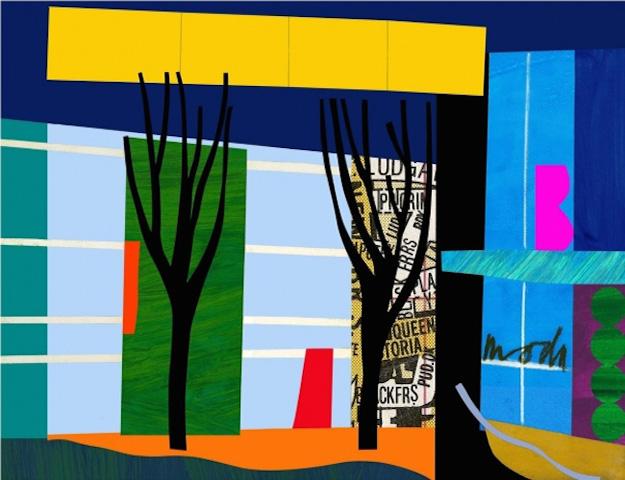 Designer Trees by Bruce McLean