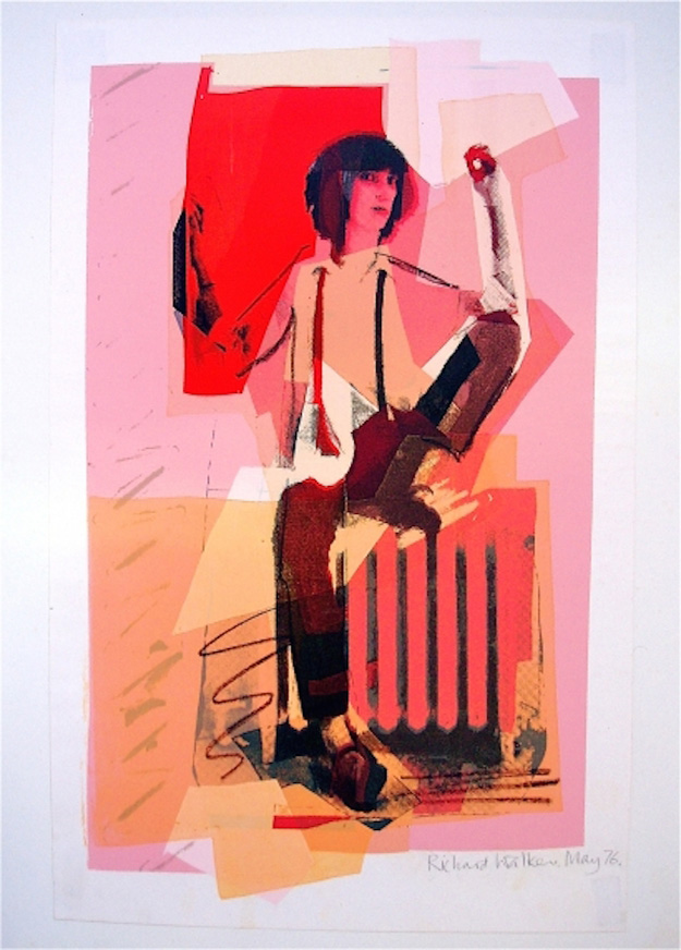Pink Posing Patti by Richard Walker