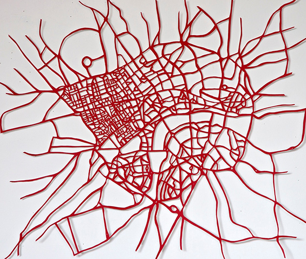Red Road Arteries by Susan Stockwell