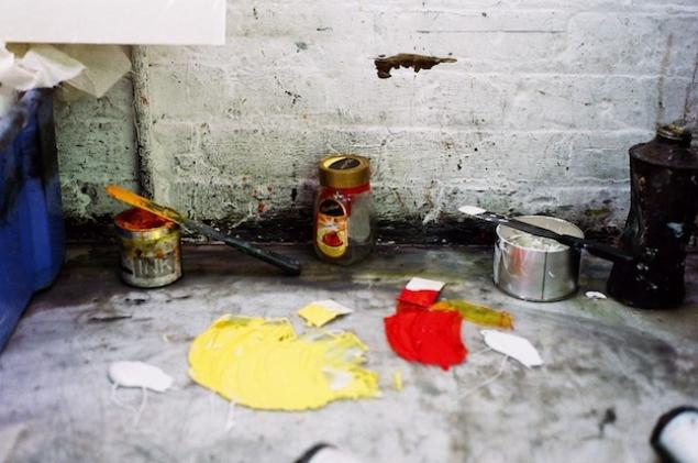 Barry Goodman's studio