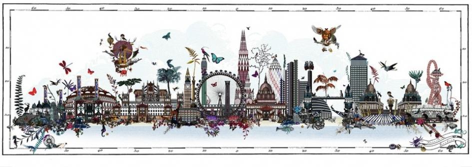 Outstanding London Design Festival Kristjana S Williams At The Map Home Interior And Landscaping Ologienasavecom