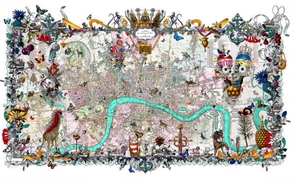 Markets royale 1816 2014 large by kristjana s williams for Buy affordable art online