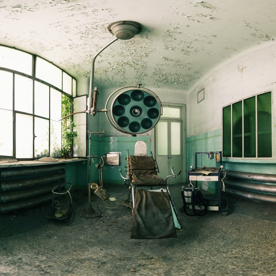 Abandoned Operating Theatre by Gina Soden
