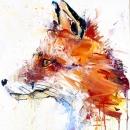 Fox (Hand Finished Gold Leaf Version)