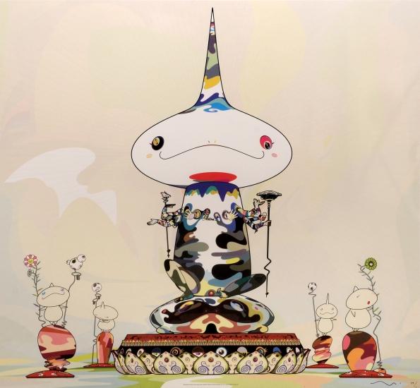 Reversed double helix mega power by takashi murakami buy for Buy affordable art online