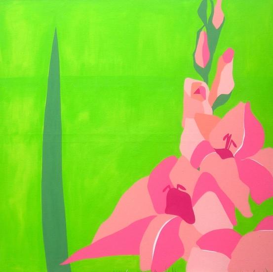 A Gladiolus by Lucie Jirku