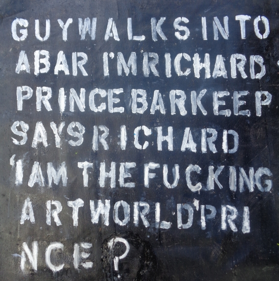 Bullshit Artist Series: This Is Not a Richard Prince  by URI DOWBENKO