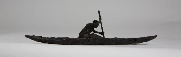 Canoe Study III by Domenica de Ferranti