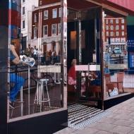 Café Windows, Brighton.