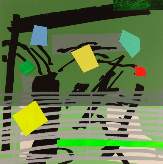 Grey Grow Green by Bruce McLean