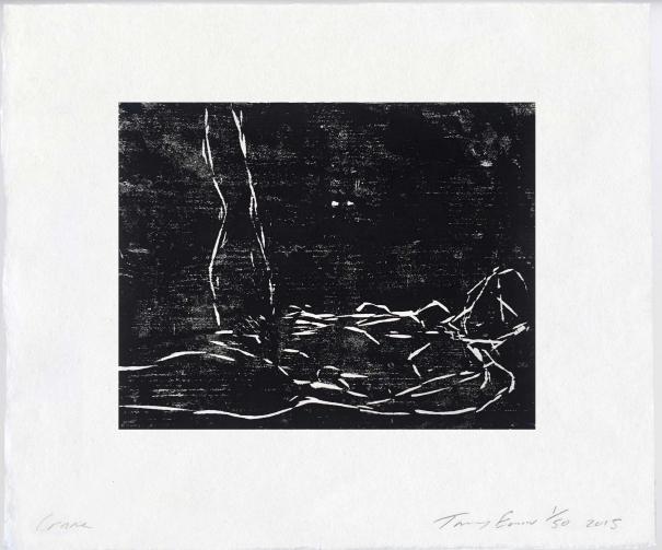 Crane by Tracey Emin