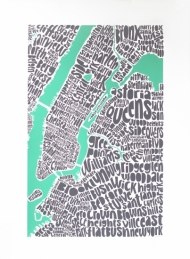 Map of NYC
