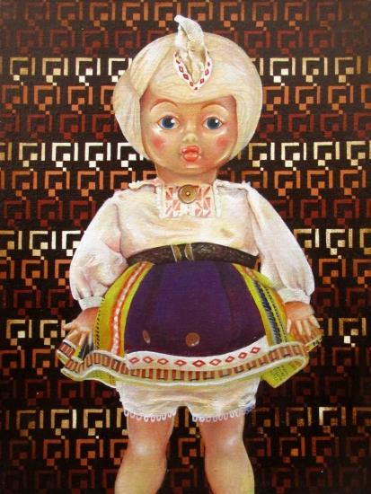 Untitled (Brown Doll)  by Tiina Lilja