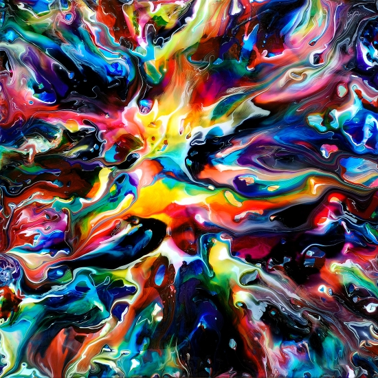 Fluid painting 102 by mark chadwick buy affordable art for Buy affordable art online
