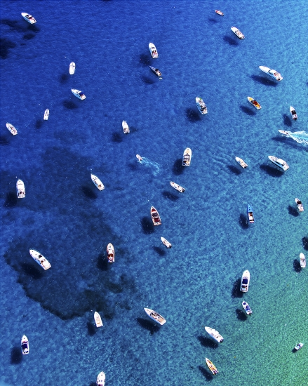 St Tropez Boats by Tommy Clarke