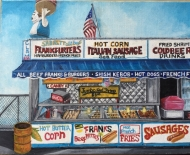 Paul's Corn Dogs Coney Island