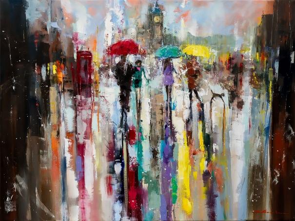'Romance in London' by Ewa Czarniecka