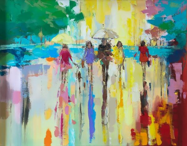 39 spring in hyde park 39 by ewa czarniecka buy affordable for Buy affordable art online