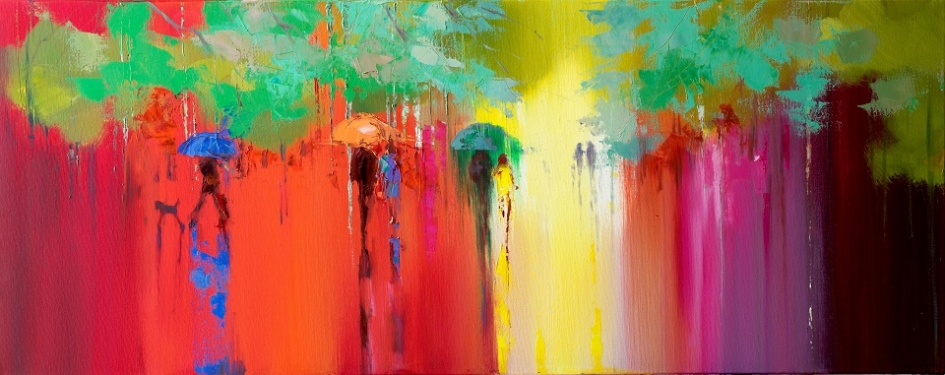 How To Paint The Rain by Eva Czarniecka