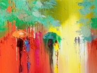 How To Paint The Rain by Eva Czarniecka