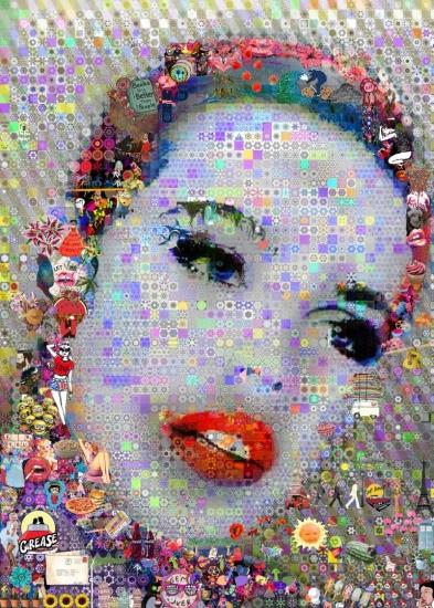 Lipstick by john lijo bluefish buy affordable art online for Buy affordable art online